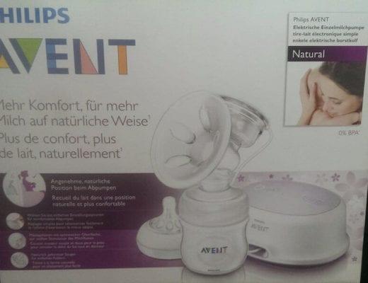 Milchpumpe Avent | familiert.de
