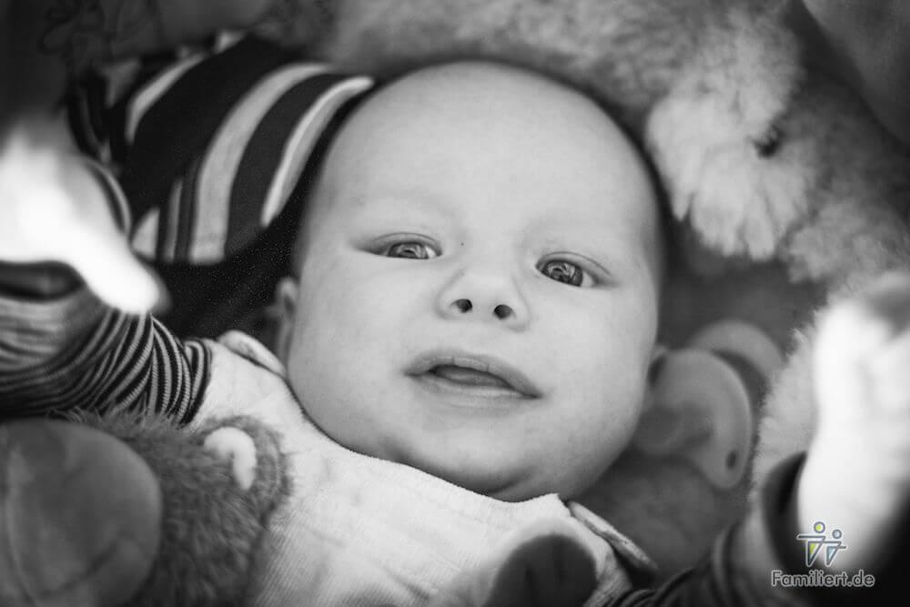 Baby lacht | familiert.de