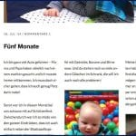 Screenshot vom Blog | familiert.de