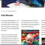 Screenshot vom Blog | familiert.de