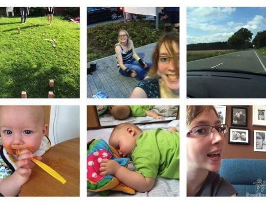 Instagram Rückblick August 2014 | familiert.de