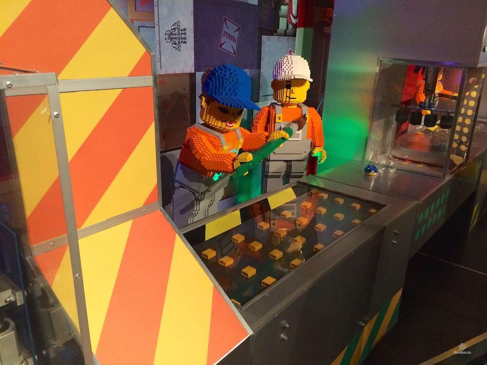 Herstellung Lego