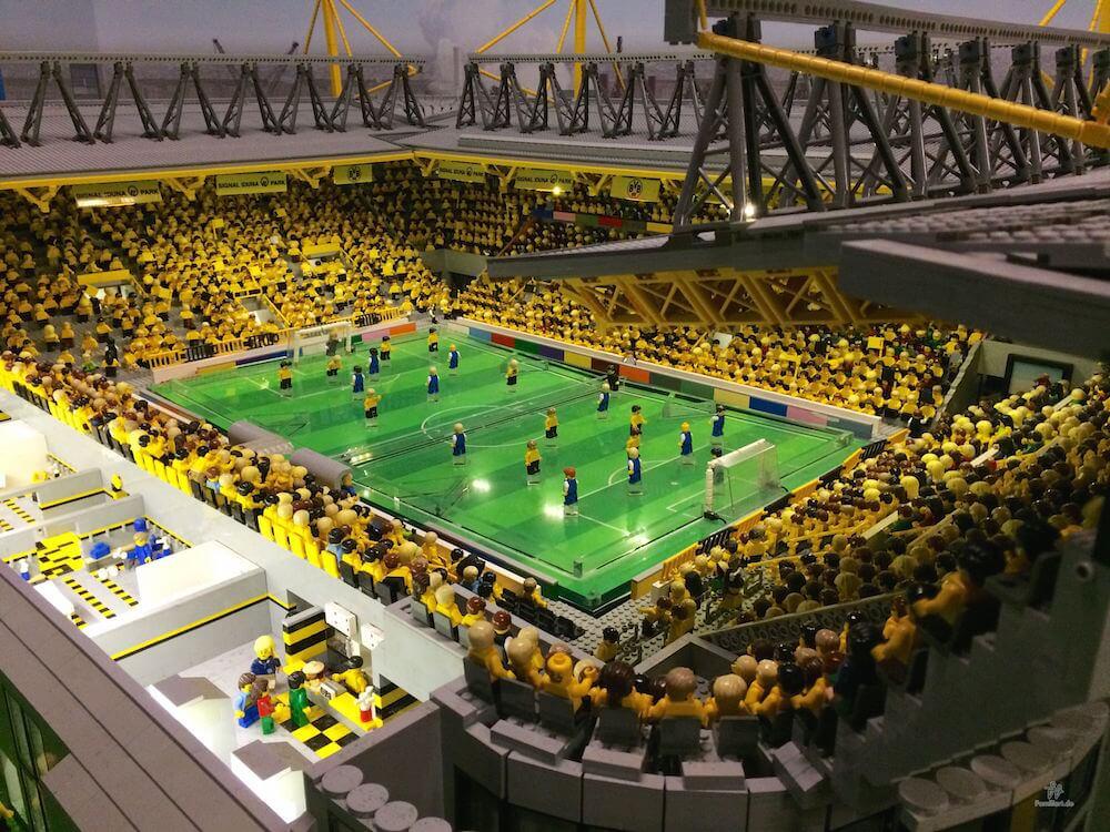 Lego Stadion Fußball