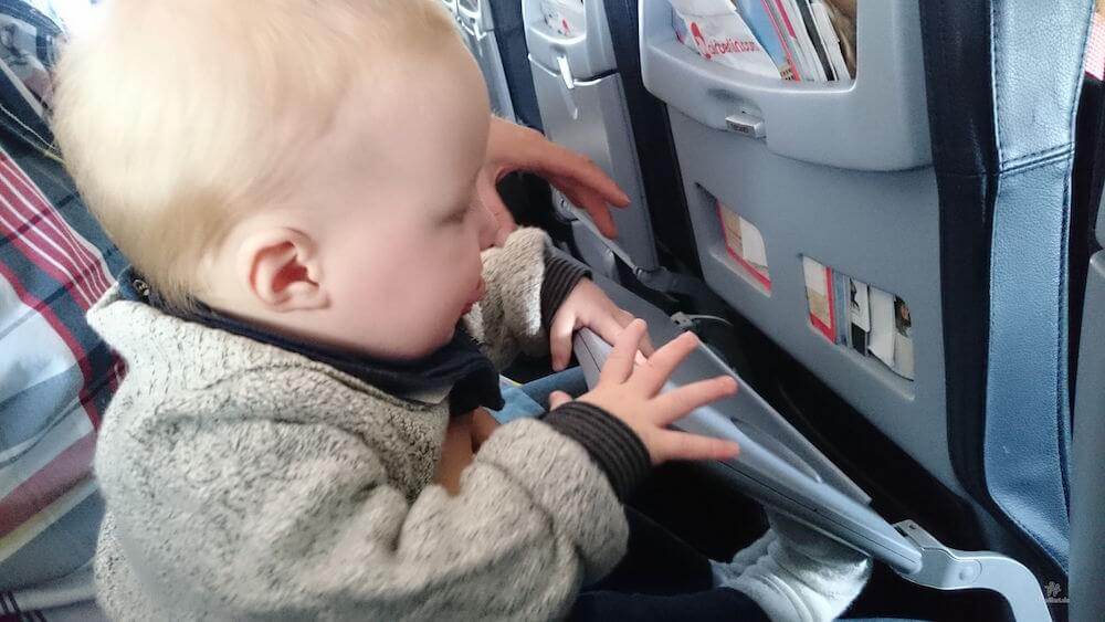Mit Baby fliegen