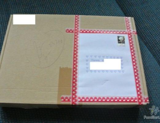Gewonnen Paket | familiert.de