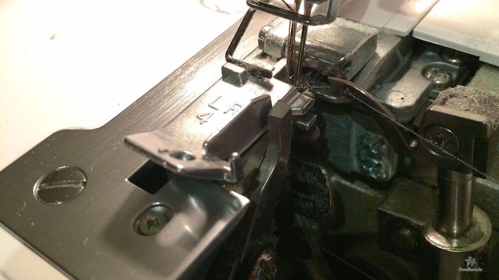 Abgebrochenes Messer