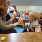 2. Elternbloggercafe Baby füttern | familiert.de