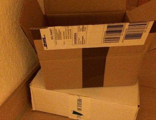 Leere Kartons | familiert.de