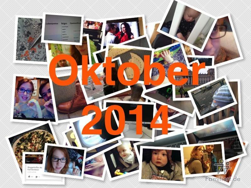 Instagram Rückblick Oktober 2014 | familiert.de