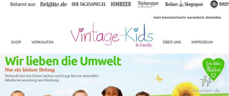 Vintage Kids | familiert.de