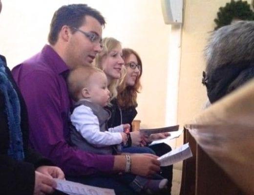 Bei der Taufe | familiert.de