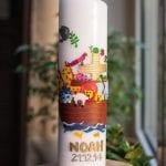 Taufkerze Arche Noah | familiert.de