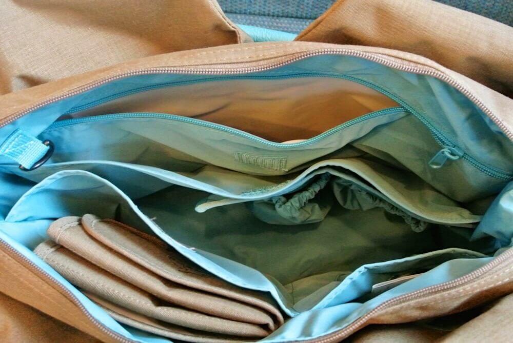 Wickeltasche Lässig innere Taschen