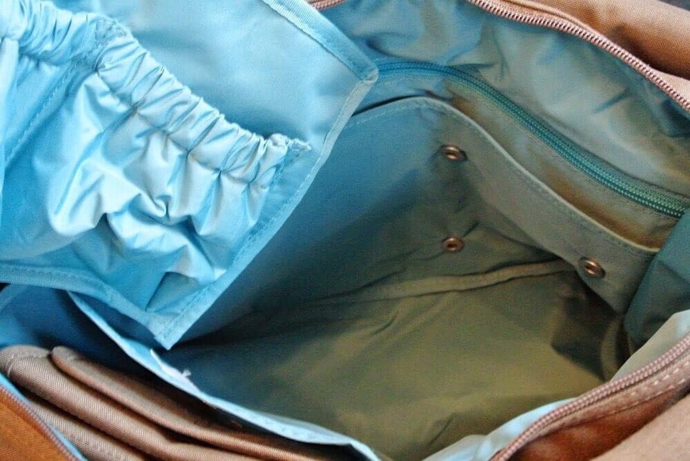 Wickeltasche Lässig innere Tasche herausnehmbar