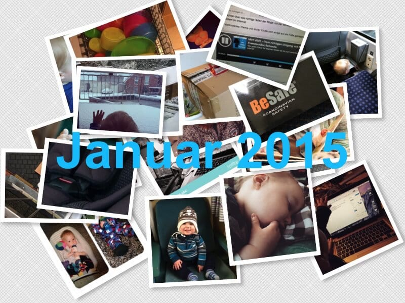 Instagram Rückblick Januar 2015 | familiert.de