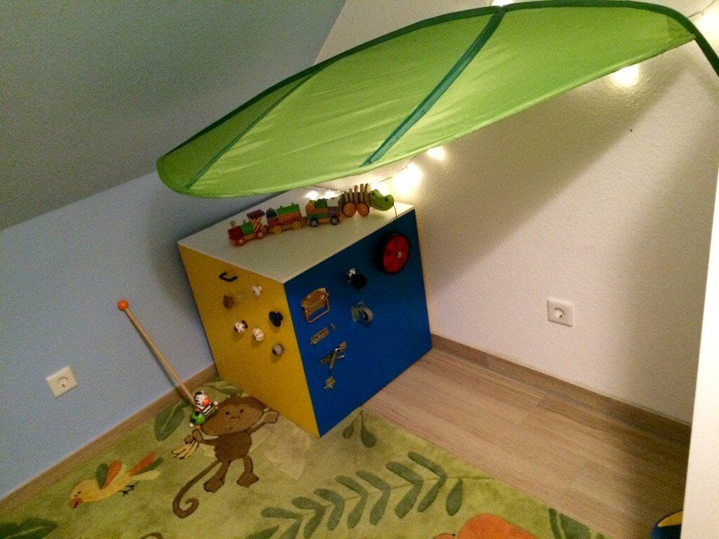 Kleinkindzimmer-Spielecke