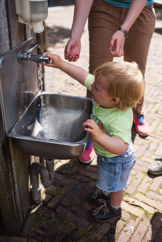 Dierenpark Emmen Hände waschen