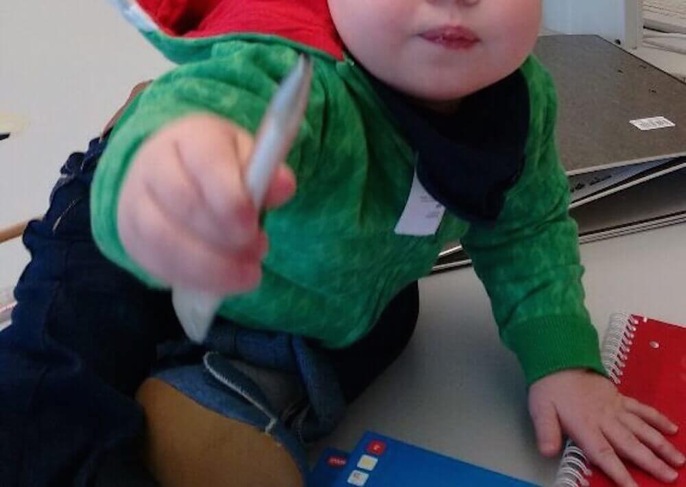 Mit dem Kind bei der Arbeit | familiert.de