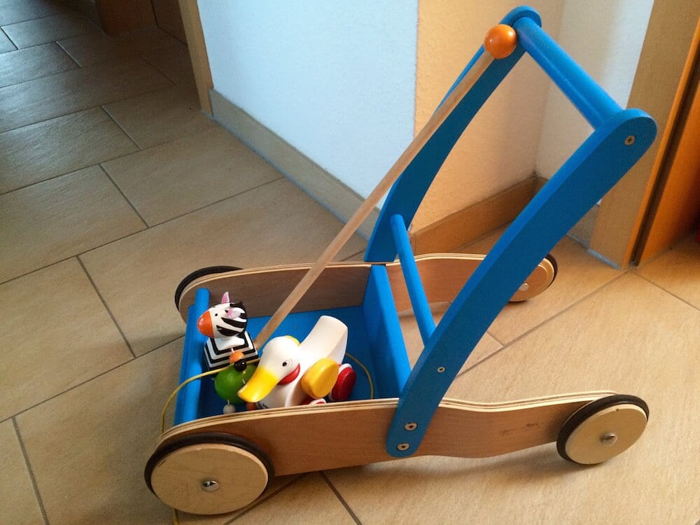 Spielzeug-Laufen