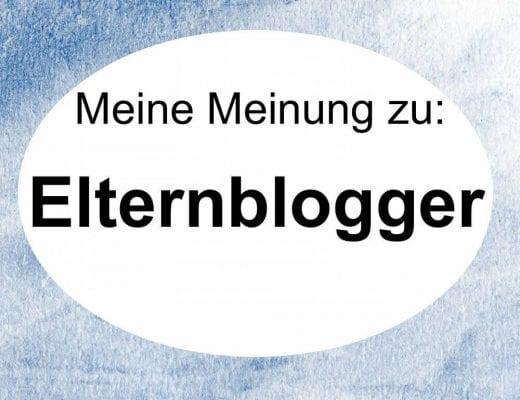 Meine Meinung zu: Elternblogger | familiert.de