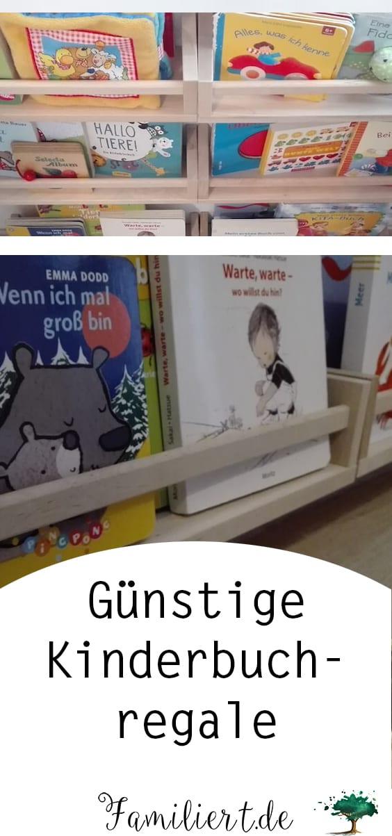 Günstige Kinderbuchregale von IKEA Hack