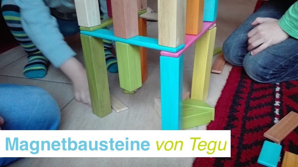 Magnetbausteine von Tegu