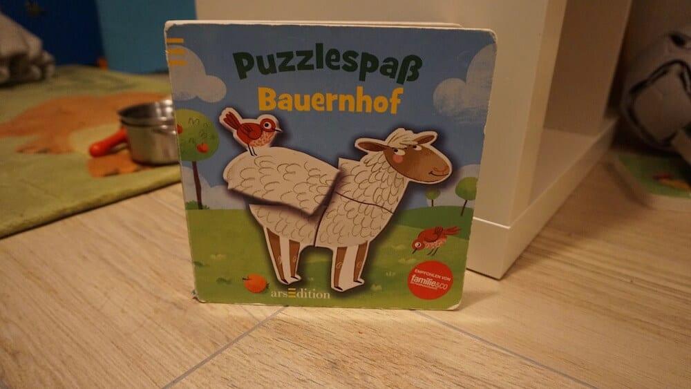 Puzzelbuch-Bauernhof