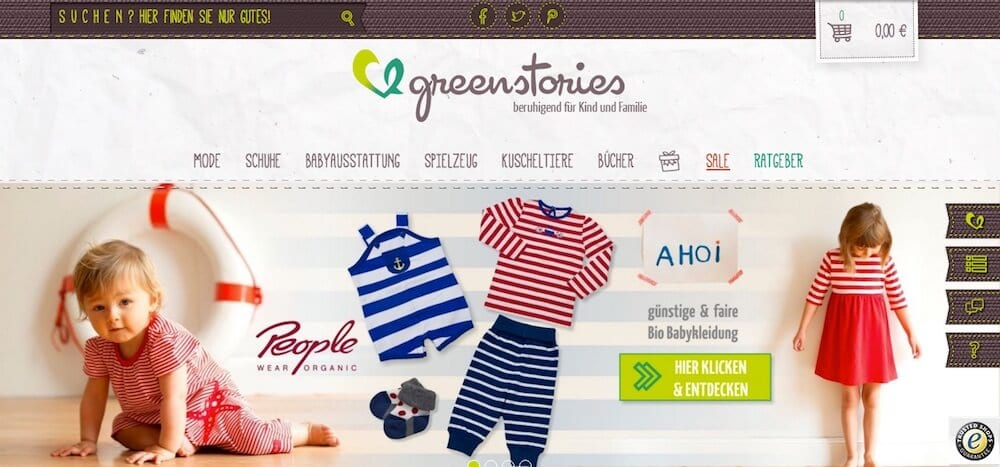 greenstories Onlineshop | familiert.de