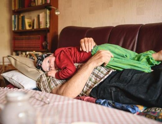 Kind und Urgroßvater | familiert.de
