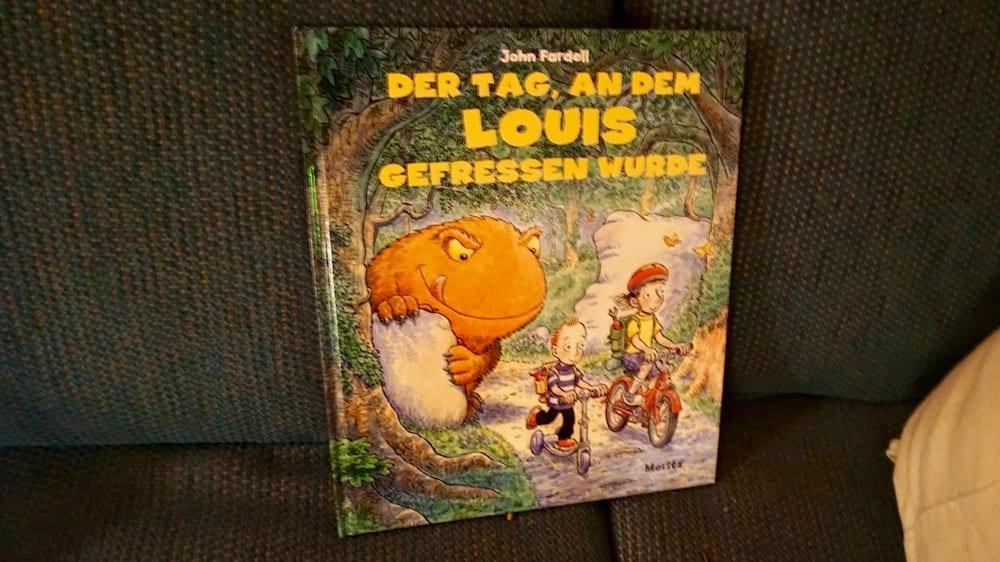 Buch: An dem Tag, als Louis gefressen wurde | familiert.de