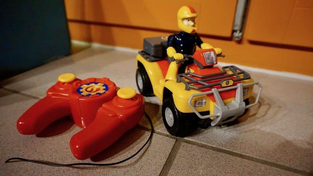 Feuerwehrmann Sam Ferngesteuertes Auto | familiert.de