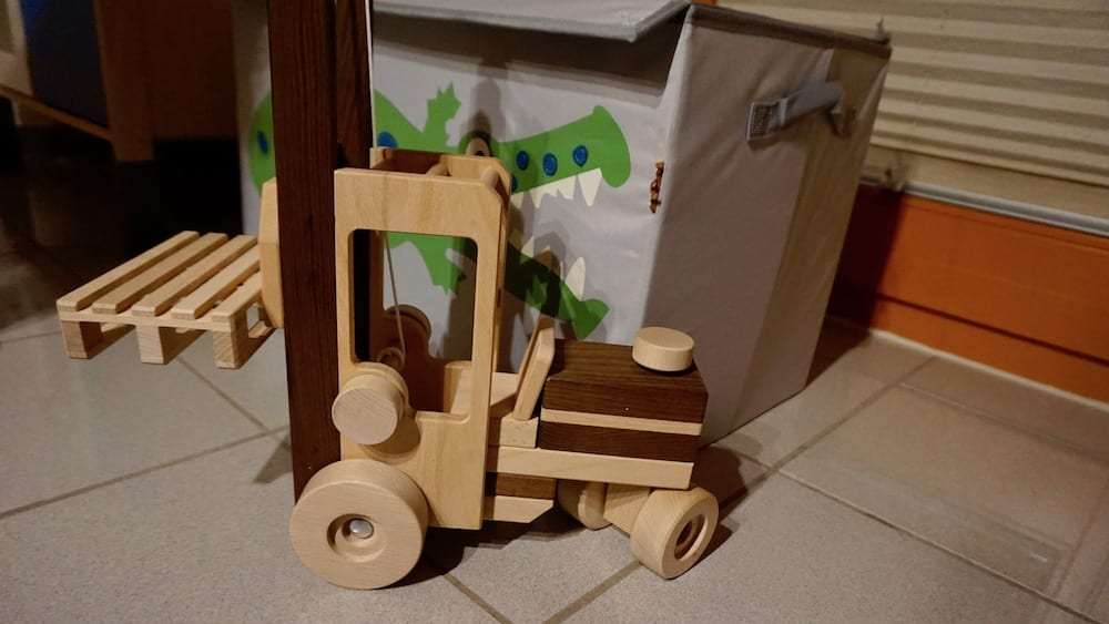 Stapler aus Holz | familiert.de