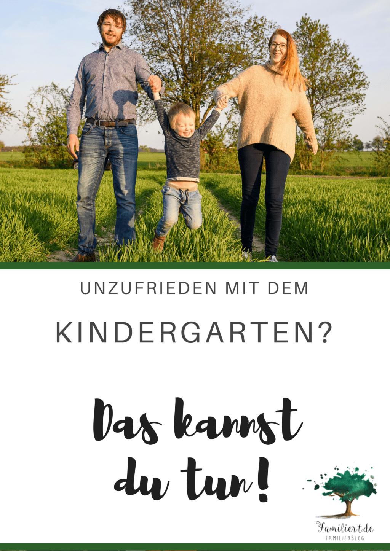 Unzufrieden mit dem Kindergarten? Hier sind Tipps, was du dagegen tun kannst! | familiert.de