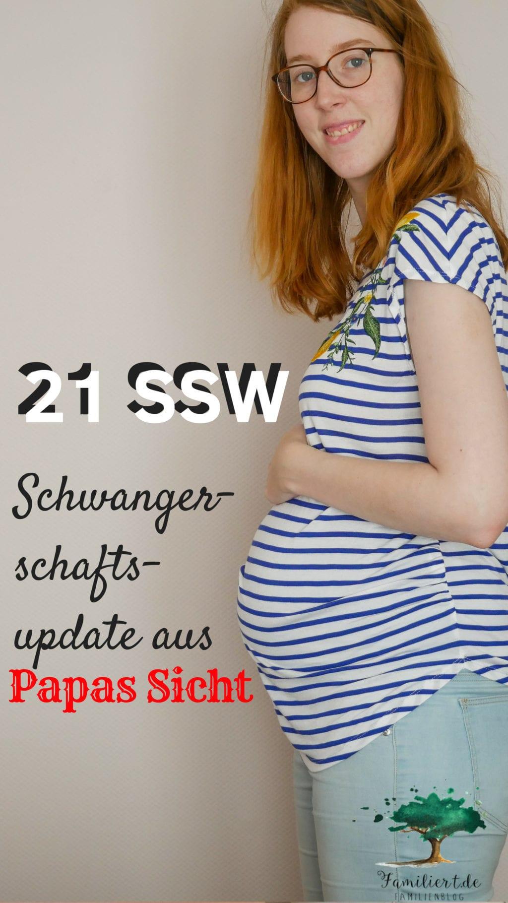 Schwangerschaftsbauch in der 21. Schwangerschaftswoche | familiert.de