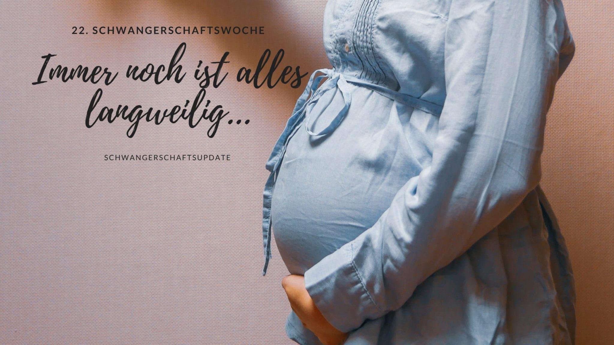 Schwangerschaftsbauch in der 22. Schwangerschaftswoche | familiert.de