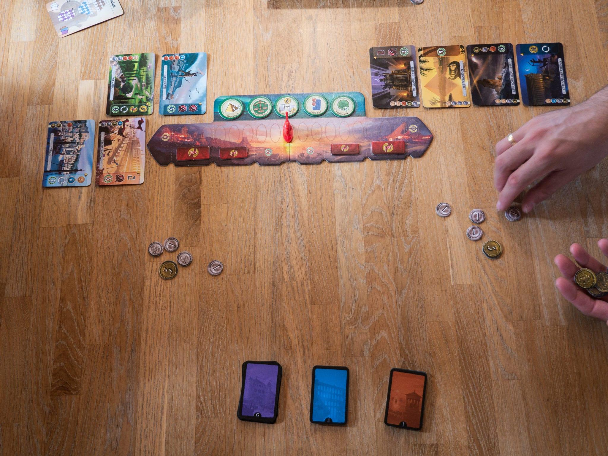 "Vorstellung des Spiels ""7 Wonders Duel"" von Repos Production | familiert.de"