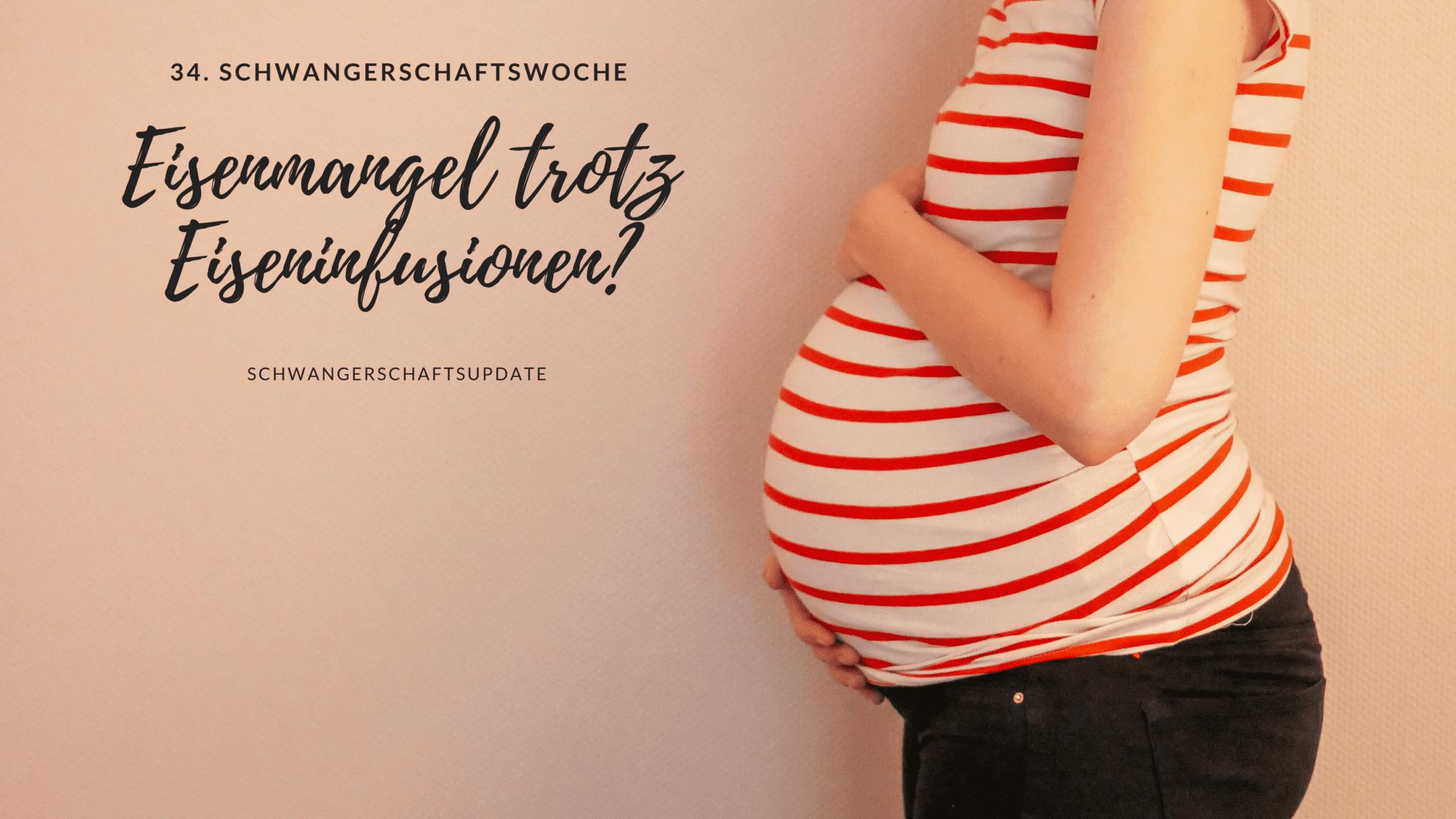 Schwangerschaftsbauch in der 34. Schwangerschaftswoche | familiert.de