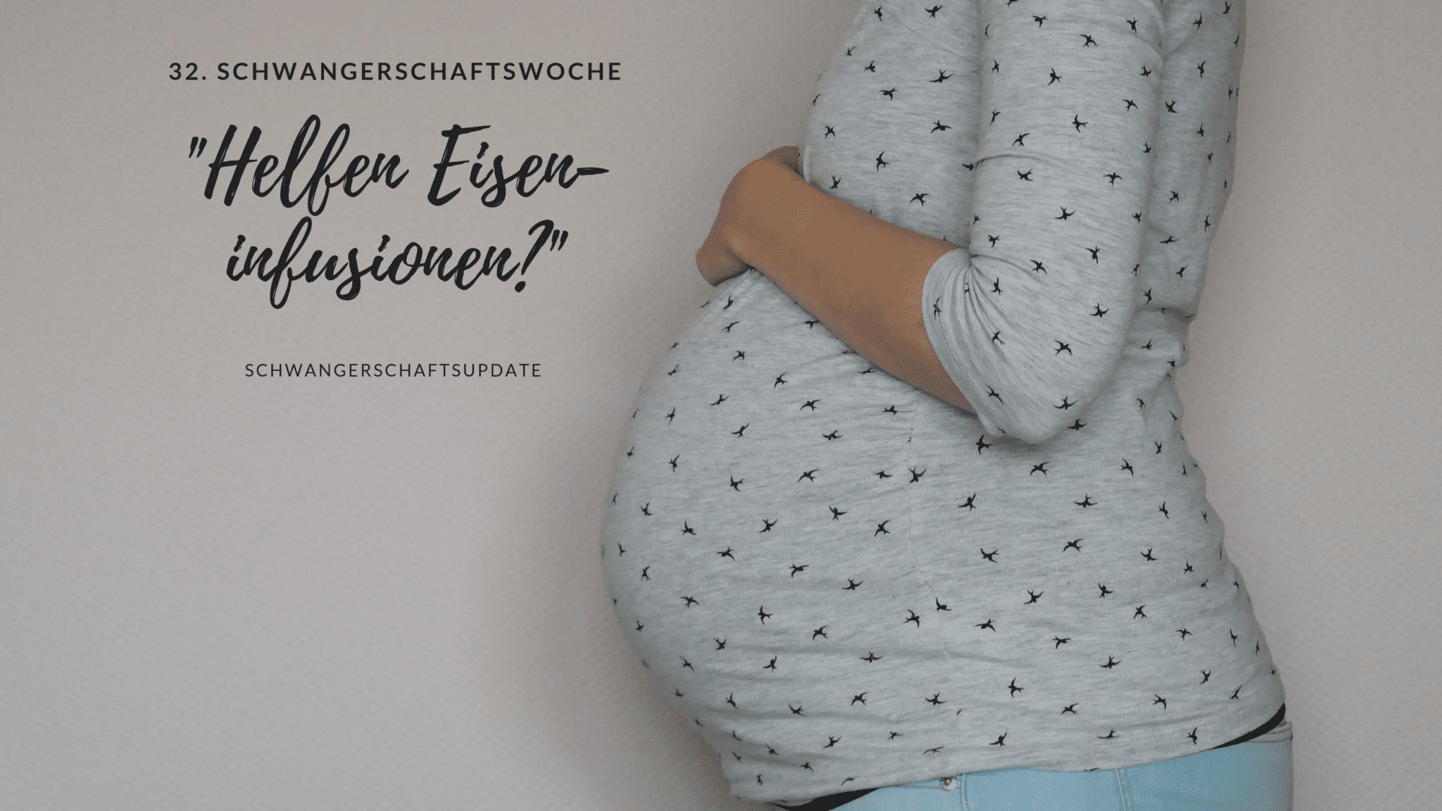 Schwangerschaftsbauch in der 32. Schwangerschaftswoche | familiert.de