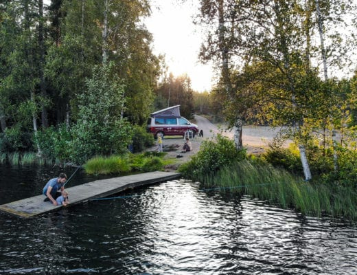 Campingurlaub mit Kindern, aber wie.Zwischen Bulli und Faltcaravan| familiert.de